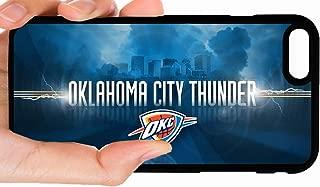 OKC Thunder City Background Horizontal Basketball Phone Case Cover - Select Model (iPhone 6 Plus)