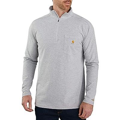 Carhartt Force Relaxed Fit Long Sleeve Quarter Zip Pocket T-shirt