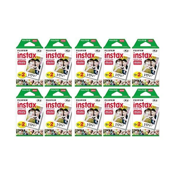 Fujifilm Instax Mini Instant Film (30 Twin packs, 600 Total pictures) for Instax...