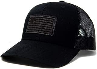 Betsy Ross American Flag Hat Black