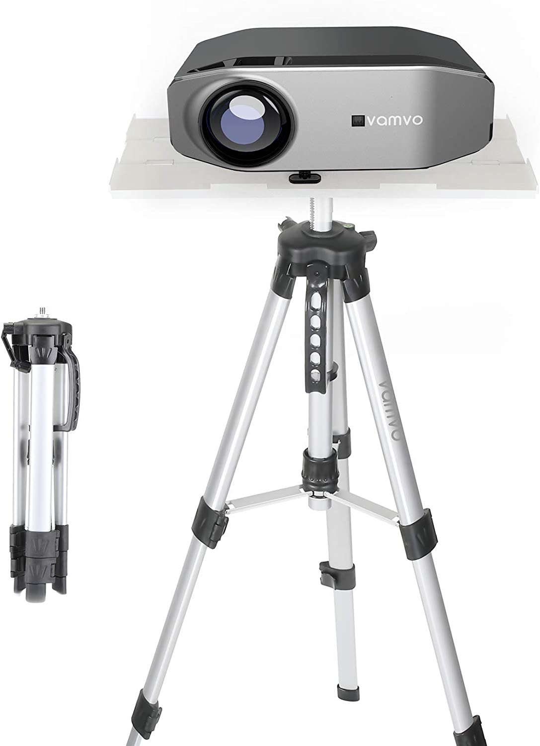 Vamvo Projector Stand, Projector Tripod Projector Stand, Portable ...