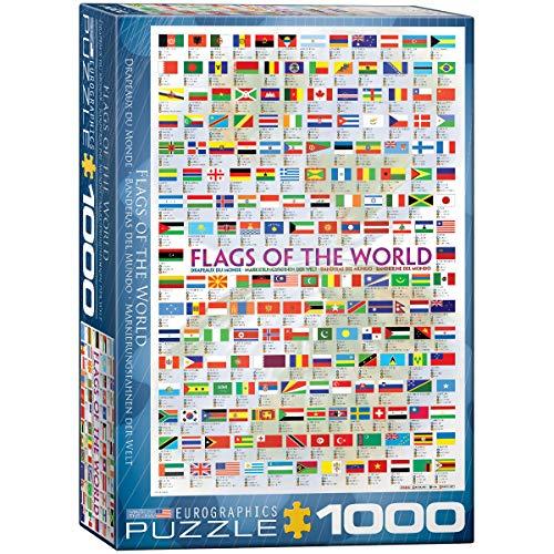 Eurographics 1000 Teile - Flaggen der Welt