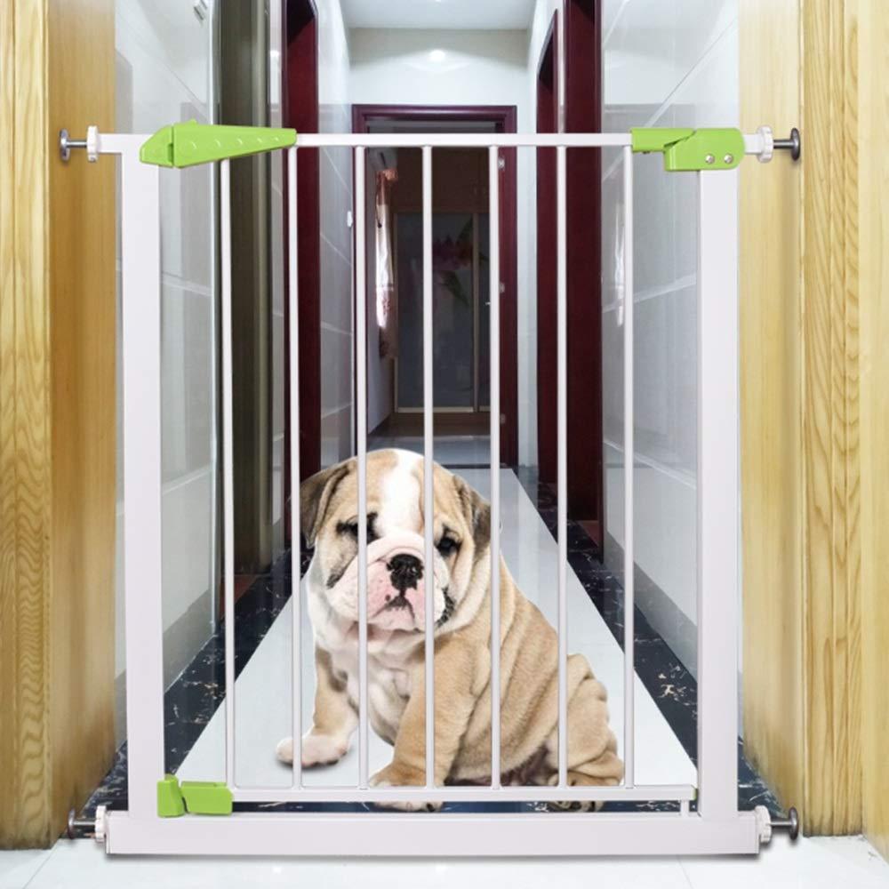 LHA barandillas para camas Puerta de seguridad para bebés y niños Bar de compuertas para bebés Barandilla de escalera para mascotas Cerca de poste para perros Cerca de aislamiento Puerta 84 *