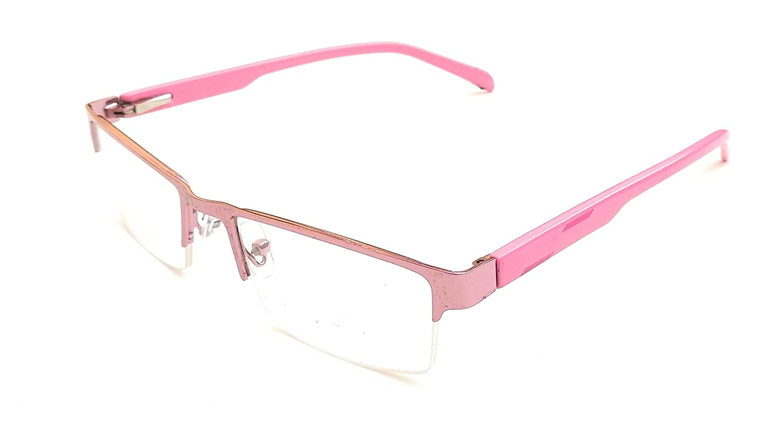 Reading Glasses Spectacle Plain No Power Zero Power Use For Computer Tv Mobile Laptop Night Driving Uv Prtection Pink Amazon In Health Personal Care