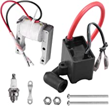 High Performance CDI Ignition Coil Kit with Magneto Spark Plug for 2 Stroke 50cc-80cc Engine Motorized Bicycle