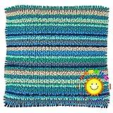 DATOU Kits De Gancho De Pestillo DIY Almohada Almohadilla Hilado Cojín EmbroideryCushion Crafts para Niños/Adultos Kits De Punto De Cruz(Size:42cm/16.5in,Color:2)