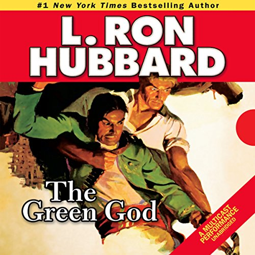 The Green God audiobook cover art