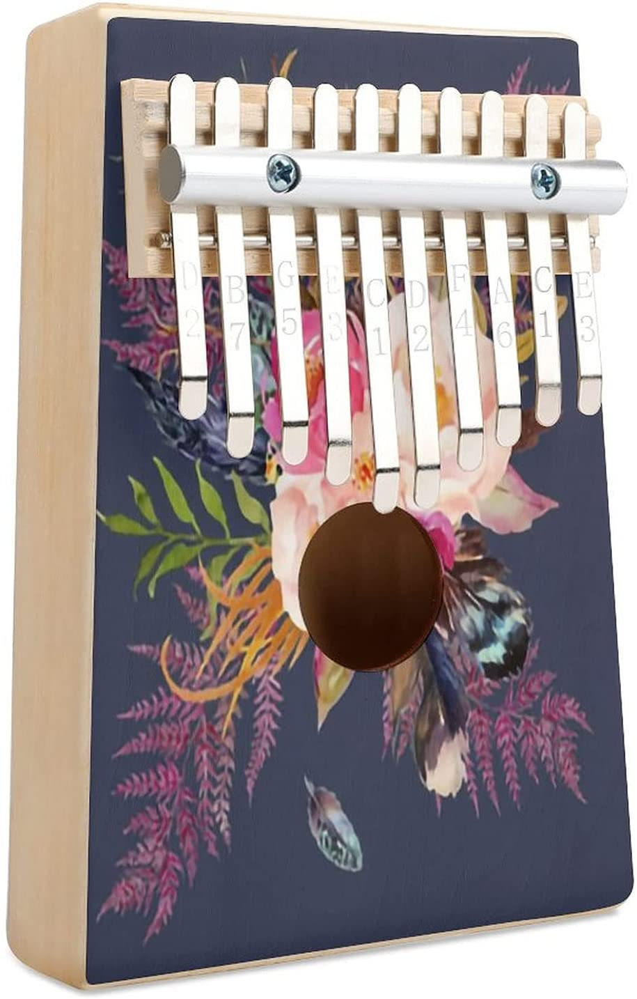 Deep Love Fq Blue Sale Kalimba Thumb Finger 10 Ranking TOP14 Musica Piano Key