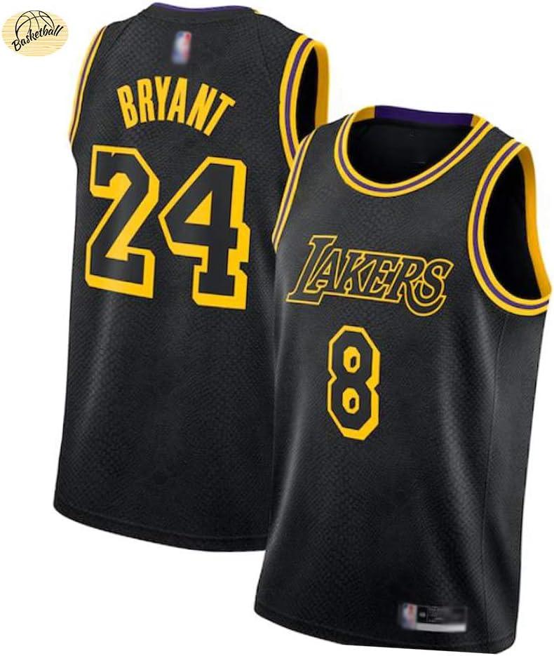 CLKI Kobe # 24 # 8 Special Edition Basketball Jersey,Black Mamba ...