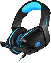 Gaming Headset for PS4 Xbox One, Comfortable Sponge, Surround Sound, Stereo, Noise Reduction, Clear Call Microphone, Suitable for Games Watching Movies