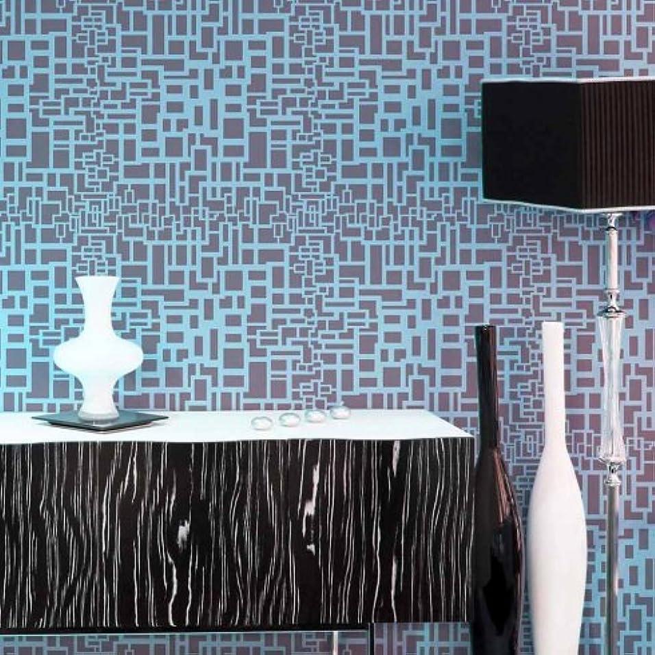 何よりもスペル報酬の新しい。?–?マトリックスAllover壁ステンシル?–?DIY壁装飾?–?by Cutting Edgeステンシル
