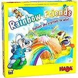 HABA 306175 Rainbow Friends - Eine wunderbare Regenbogensammlung und Schätzungsspiel für 2 bis 4 Spieler, ab 4 Jahren Englische Version