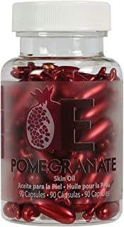 Pomegranate Skin Oil Capsules by EasyComforts - 90 Capsules