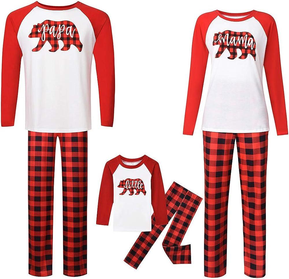 TLLW Familia Navidad Pijamas Navidad Familia Coincidencia ...
