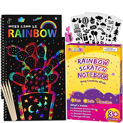 (50% OFF) Rainbow Scratch Paper  $6.50 – Coupon Code