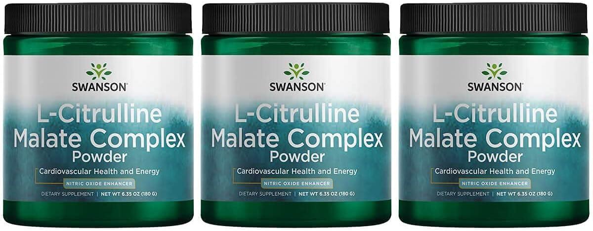Swanson Amino Acid L-Citrulline Max 62% OFF Malate Complex 6.35 Ounce g 180 Topics on TV