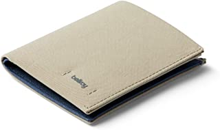 Bellroy Note Sleeve, slim woven wallet, RFID editions available (Max. 11 cards and cash) - LichenGrey