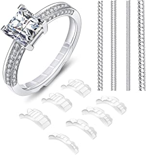 2 Styles Invisible Ring Size Adjuster for Loose Rings � Ring Guard, Ring Sizer, 11 Sizes Fit for Man and Woman Ring