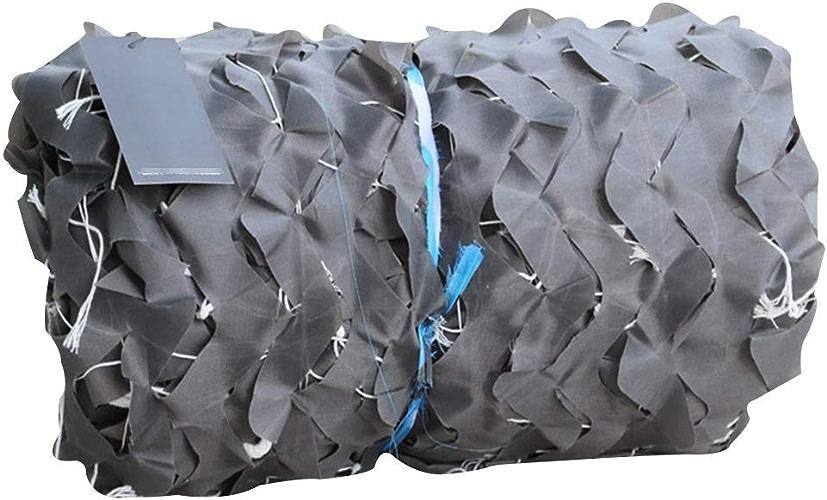 QIANGDA Filet De Camouflage Filet pour Parasol gris Accessoires De Chasse Les Stores Filet Camo pour Abri De Pêche Camping Cacher Filets De Prougeection Solaire MultiCouleures (Taille   5x6m)