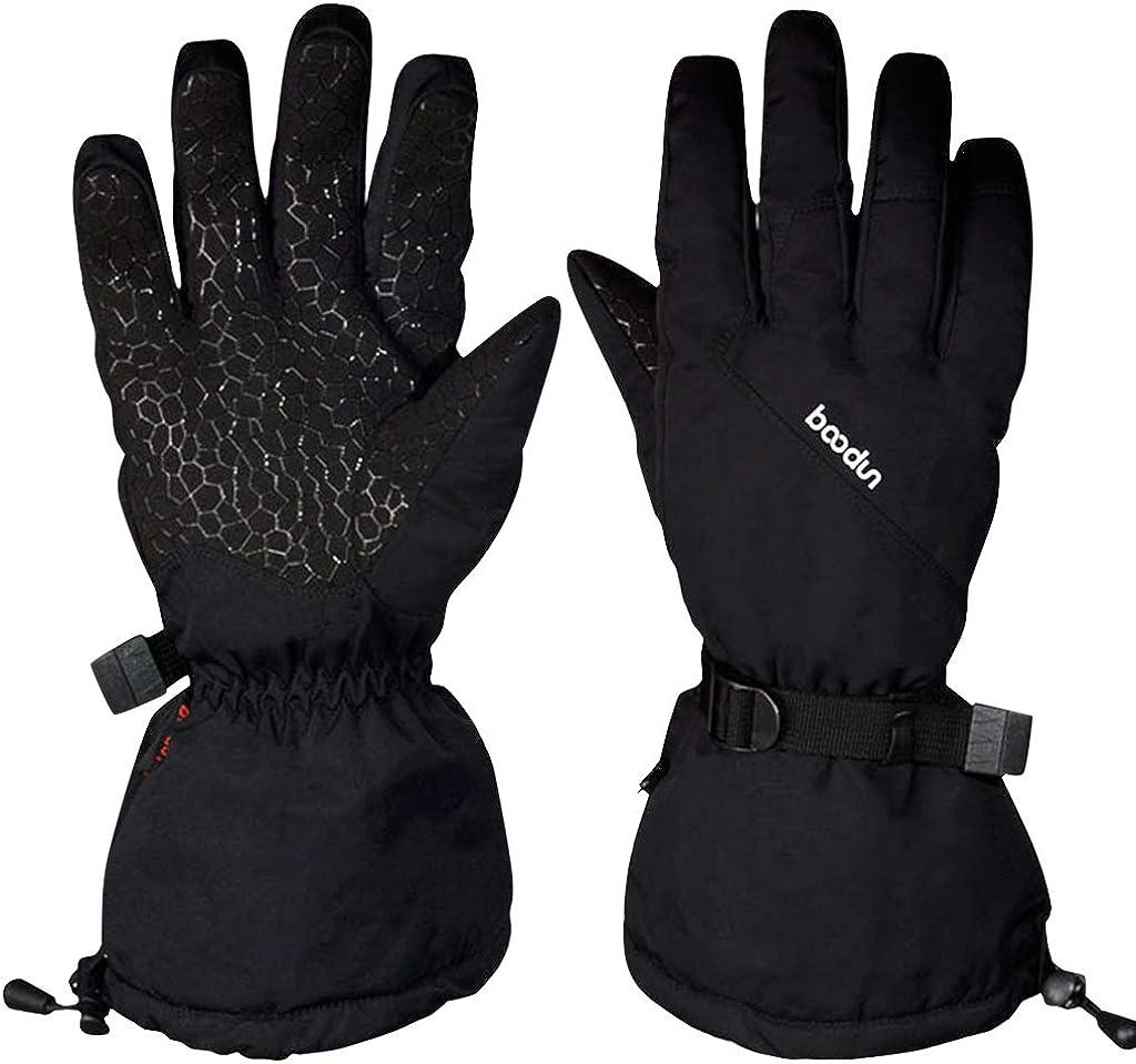 Warm Ski Gloves Waterproof Outdoor Men Women Windproof Insulated Winter Gloves