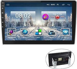 Android Car Radio GPS 9'' Reproductor estéreo CAMECHO 2 DIN Pantalla táctil FM Am Radio Bluetooth WiFi Teléfono móvil Espe...