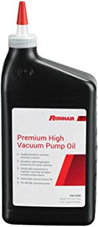 Robinair 13203 Premium High Vacuum Pump Oil - 1 Quart Bottle, 12 Pack