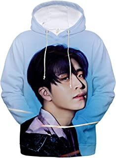 DHSPKN Kpop GOT7 3D Printed Hoodie 2019 World Tour Pullover Jacket Jackson Bambam Youngjae JB Sweatshirt