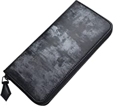 (ファイブウッズ) FIVE WOODS BASICS BRIDLE ベーシックブライドル ラウンドファスナーロングウォレット 「RF LONG」 ブラック 日本製 ブライドルレザー 本革 メンズ 長財布 43018 wl4140