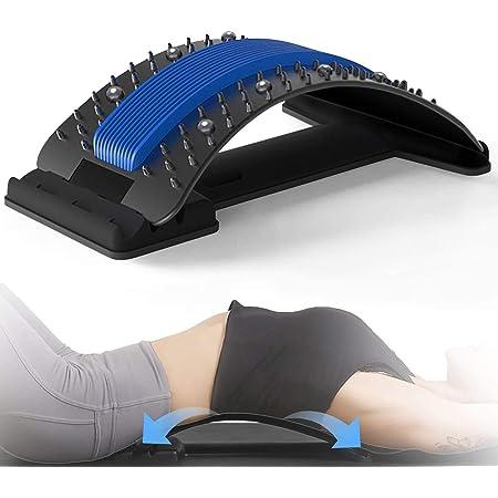Magic Back Stretch Equipment Body Massagegerät Fitness Lumbale Schmerzlinderung