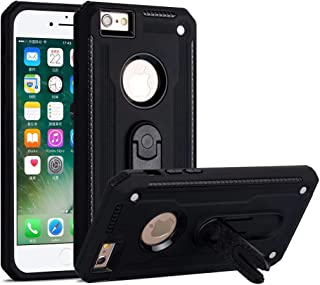 Ropigo iPhone 6 Case   iPhone 6S Case   Military Grade   Drop Tested Protective Case   360 Rotatable Kickstand   Compatible with Apple iPhone 6/iPhone 6s Black