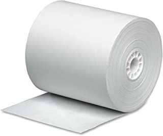 PM Company Cash Register Paper Rolls, 3 Inch x 165 Feet, 50 Rolls per Carton (07788)