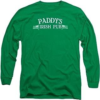 It's Always Sunny in Philadelphia TV Paddy's Irish Pub Adult Long Sleeve T-Shirt