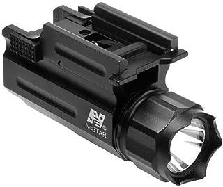 NcSTAR Weaver Mount Tactical LED Light Flashlight, Black
