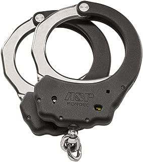 ASP Ultra Cuffs, Chain (Steel Bow) Handcuffs - 1 Pawl Tactical Lock Set