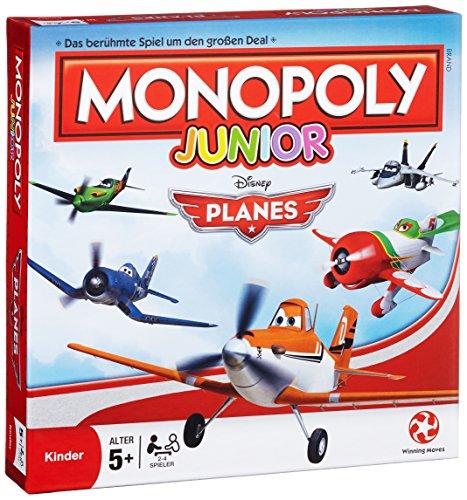 Winning Moves 43010 - Monopoly Junior Disney Planes