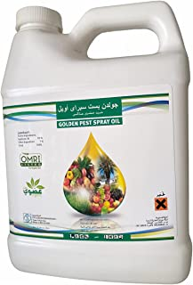GOLDEN PEST SPRAY OIL مبید حشری عناکبی,%100 Dustmites Killer, Mosquito Killer, Fly Killer and other soft Insects, 1L (Made...