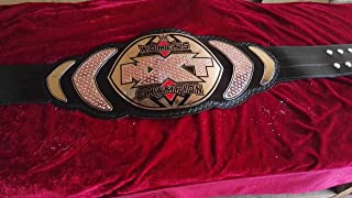 WWE NXT Womens Championship Belts Genuine Leather Thick Brass Plated Adult Size