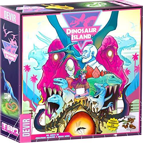 Devir Dinosaur Island-Juego De Mesa [Castellano] (DEV227864)