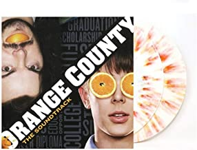 Various - Orange County Original Motion Picture Soundtrack Vinyl Exclusive Limited Edition White with Orange Splatter Vinyl 2X LP
