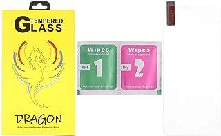 شاشة حماية لاصقة زجاج مضادة لبصمات الاصابع لموبايل سامسونج جالاكسي A51 من دراجون - شفافة