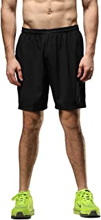 SEEU Mens Running Shorts, Fitness Training Gym Shorts for Men with Pocket