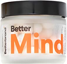 BetterMind - Nootropic Brain Supplement, All-Natural, Boost Focus Memory & Energy, 30 Servings