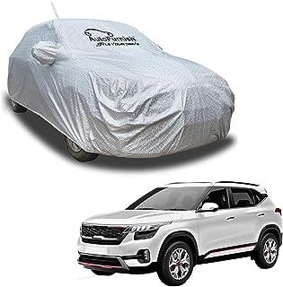 Autofurnish Aero Waterproof Heat Resistant Mirror and Antenna Pocket Car Body Cover Compatible with KIA Seltos 2019