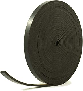 Herco 38P-1410B Closed-Cell Expanded Black Neoprene Rubber Sponge P-Shaped Seal Gasket 5//16 x 9 ft.