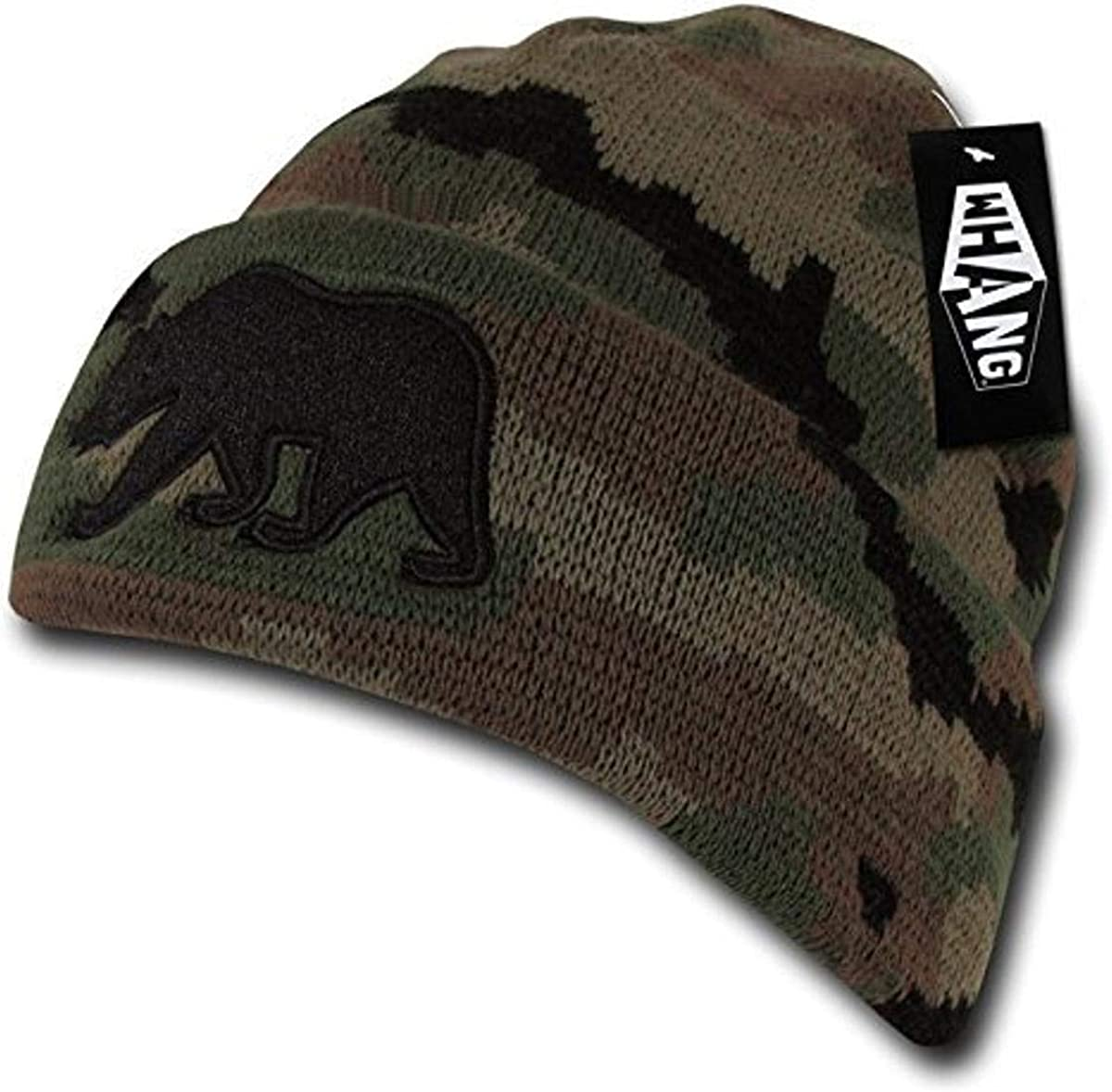 WHANG Pom Popular brand in the world Cali Cheap mail order sales Bear Beanies