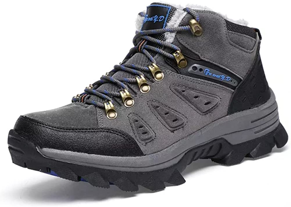 At the price Men's Boots Winter High Top Mi New York Mall Outdoor Hiking Leather Snow
