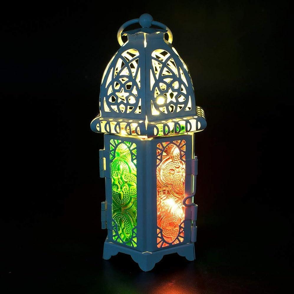 北西スロベニアディレクトリ吊り下げランタンランプ、つや消しつる光、家庭用20 LED調光可能な金属の妖精ライト、庭、芝生、庭、パティオ、庭屋内、屋外DIY、パーティーの装飾