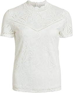 Y Amazon MujerRopa esVila Blusas CamisetasTops wOP0NnXk8Z