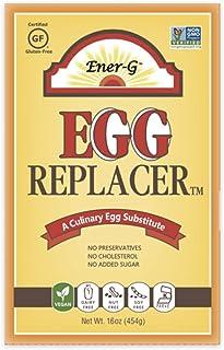 Vegan Egg Replacer by Ener-G | Gluten Free, Vegan, Nut Free, Non-GMO, Kosher | 16 oz Package