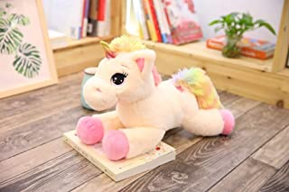 Cherubs Adorable Stuffed Plush Baby Unicorn (Multicolour, Large, 60 cm)
